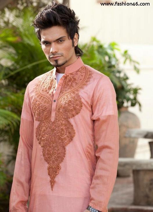 Men's fashion, Shalwar Kameez, men kurta designs, kurta designs, fashion for men 2013, kurta pattern, latest kurtis, fashions for 2013, kurta styles, party wear for men, kurta collection, fashion trends 2013 winter, fashionable styles for men, kurtis, new fashion for 2013