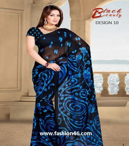 latest fashion news, latest fashion trends, latest dresses, latest party wear saree, latest saree collection, saree collection for summer, beautiful party wear saree, latest stylish saree, stylish saree for women, stylish saree for girls, black beauty saree designs, women clothing, women dresses, latest women fashion, women lifestyle, Indian stylish saree, new saree collection 2014
